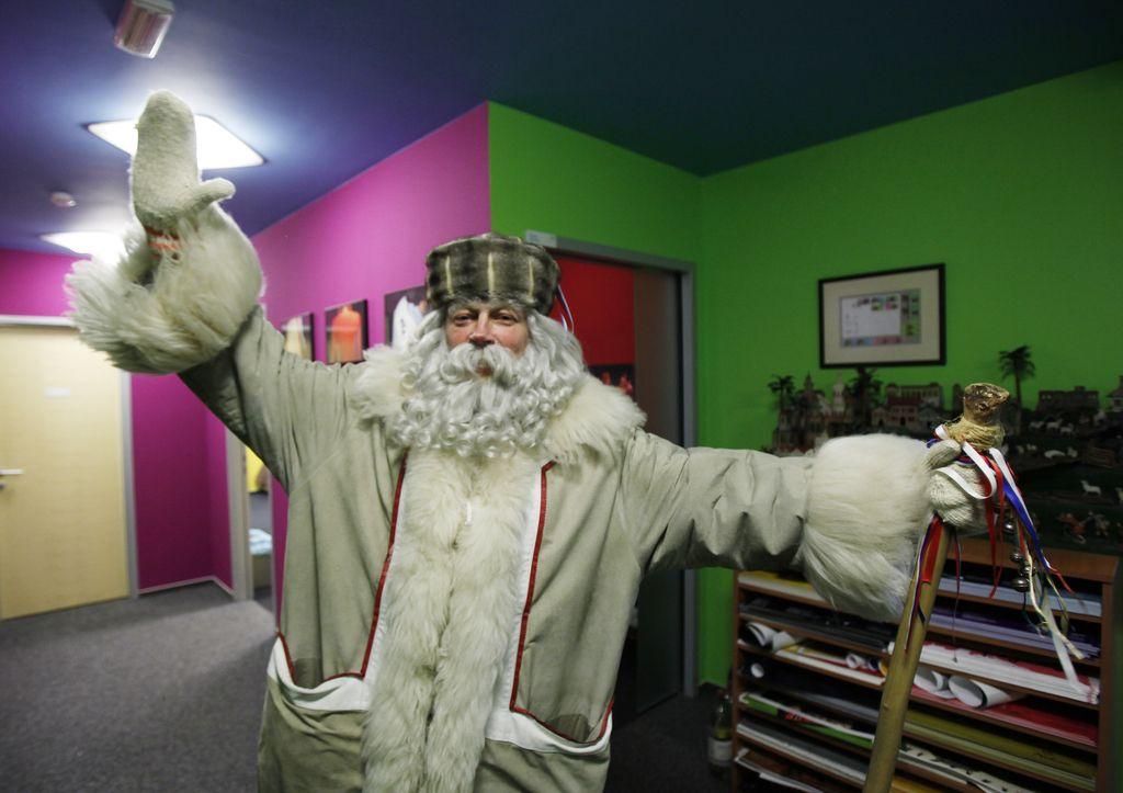 Kdor verjame v dedka Mraza, verjame v lepši svet