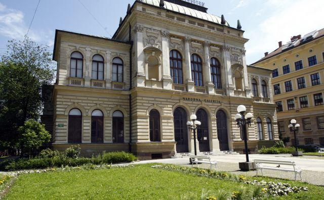Zgradba Narodne galerije v Ljubljani 14. junija 2013.