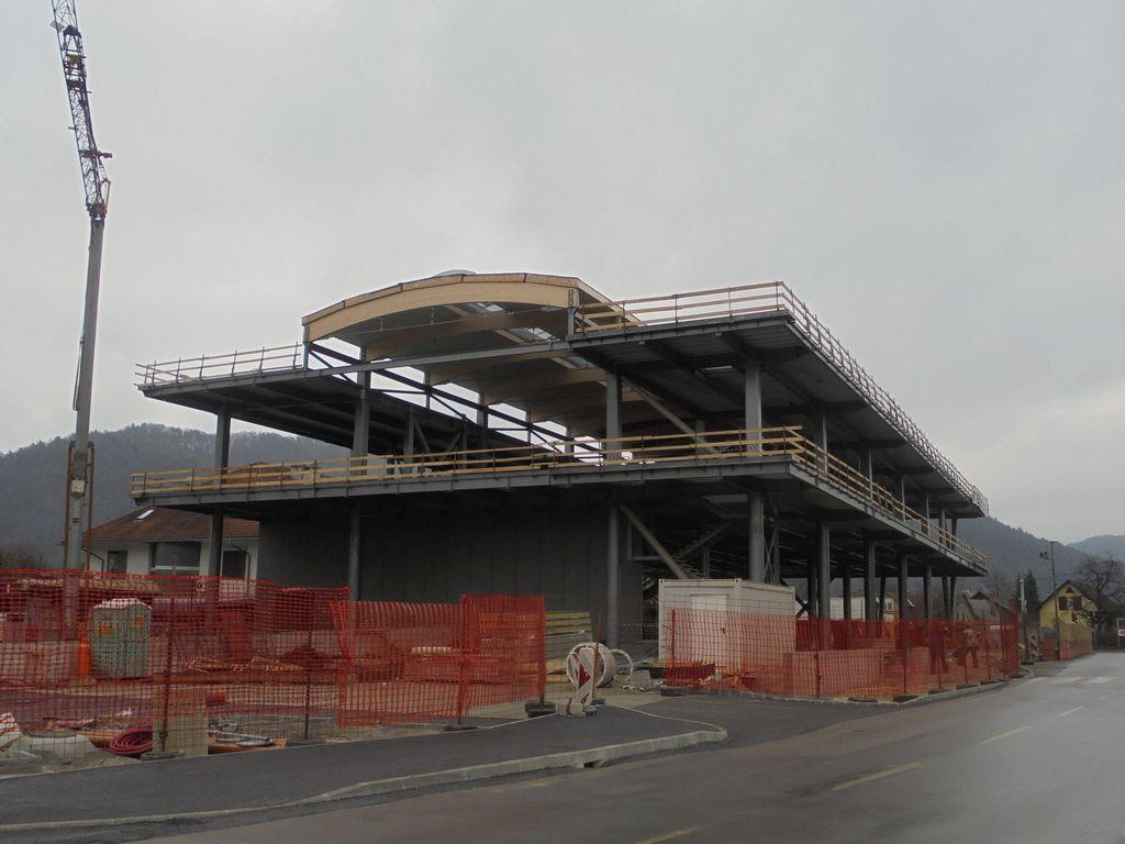 Sparov center v Zalogu bo končan do oktobra
