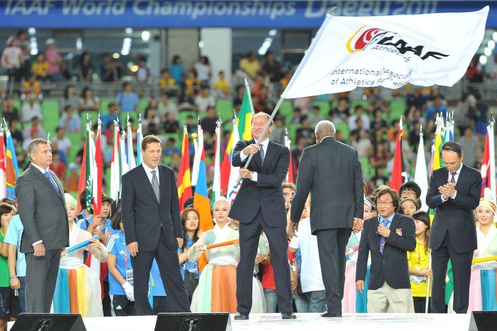 IAAF doživljenjsko suspendirala tri ruske funkcionarje