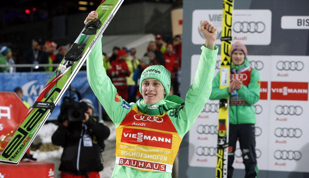 Tina Maze Petru Prevcu: Imaš zmagovalno energijo, obdrži jo!