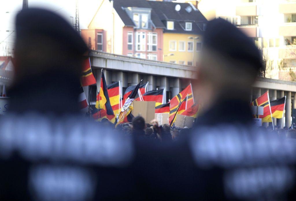 Juriš skrajnih desničarjev na nemško pravosodno ministrstvo
