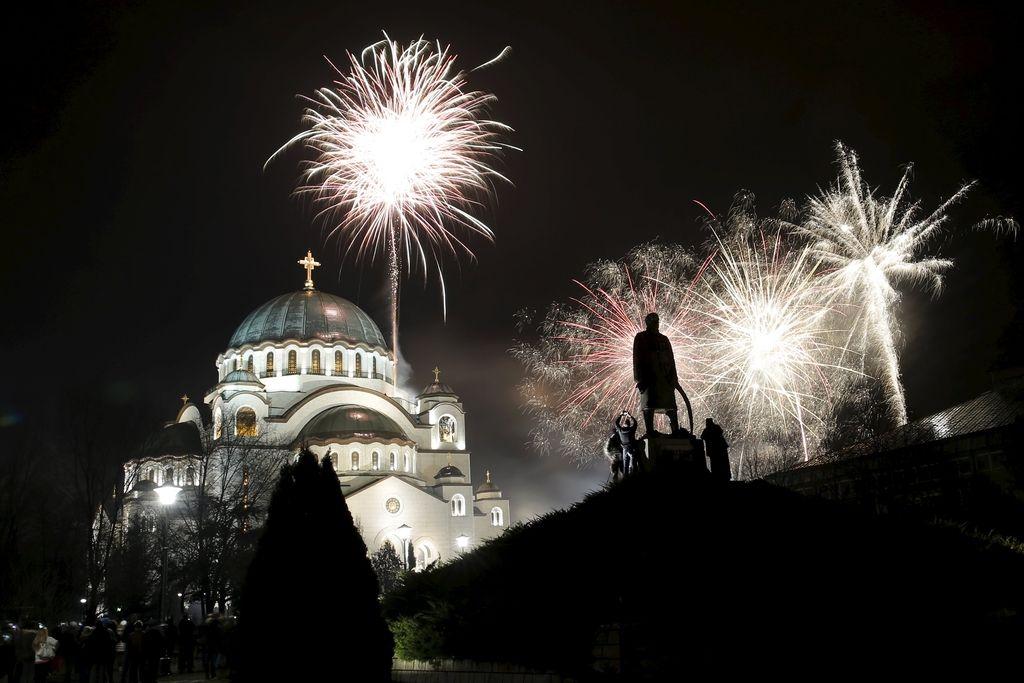 Pravoslavni verniki vstopili v novo leto