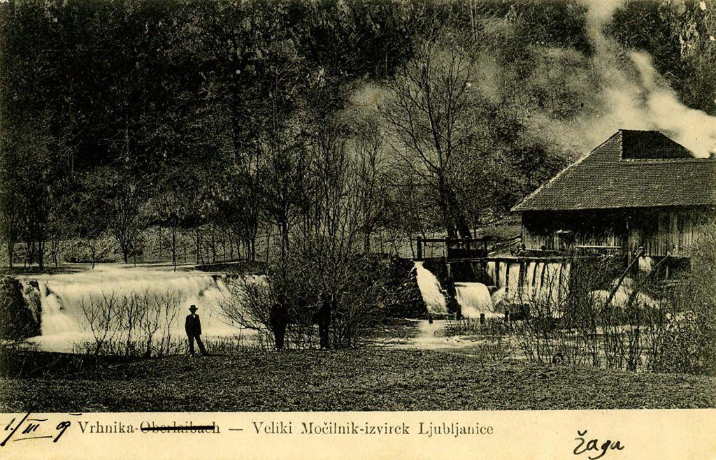 Nekoč v Ljubljani: Ljubljanica I.