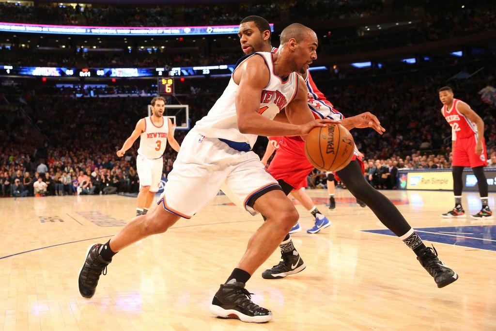 NBA: Vujačičev New York stežka strl odpor odpisane Philadelphie (VIDEO)