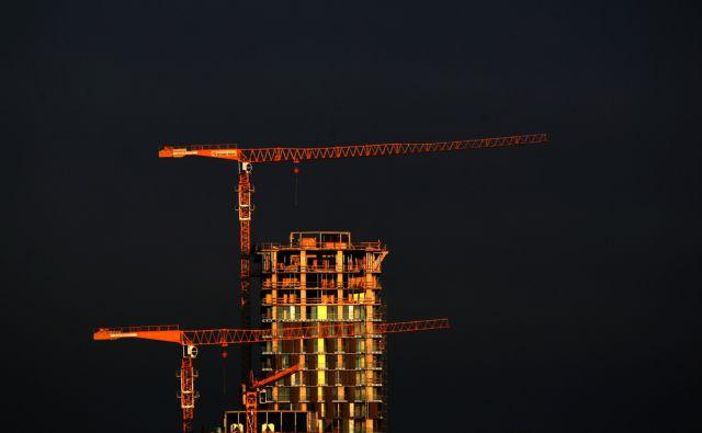 SLOVENIJA LJUBLJANA 22.01.2012 STANOVANJA GRADBENISTVO NEPREMICNINE KRASKI ZIDAR FOTO:ROMAN SIPIC/DELO