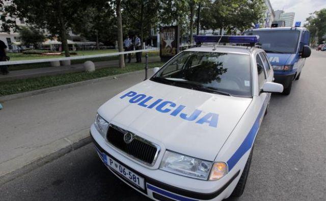 suhadolnik policijsko vozilo