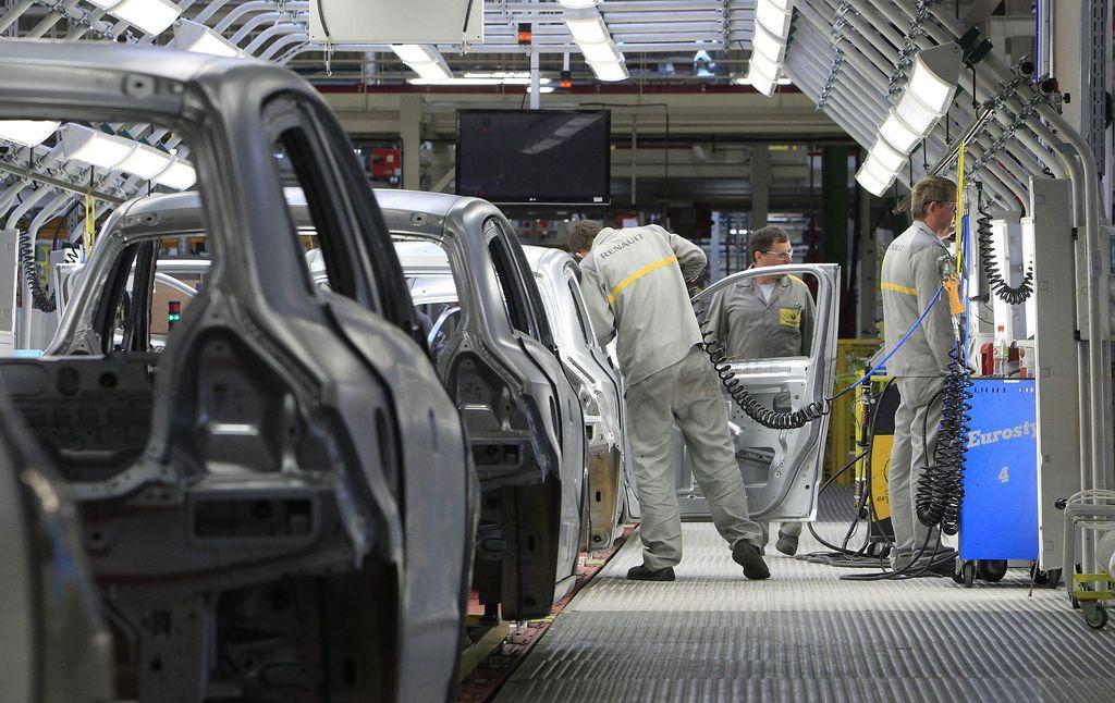 Slovenija z največjo rastjo industrijske proizvodnje v EU