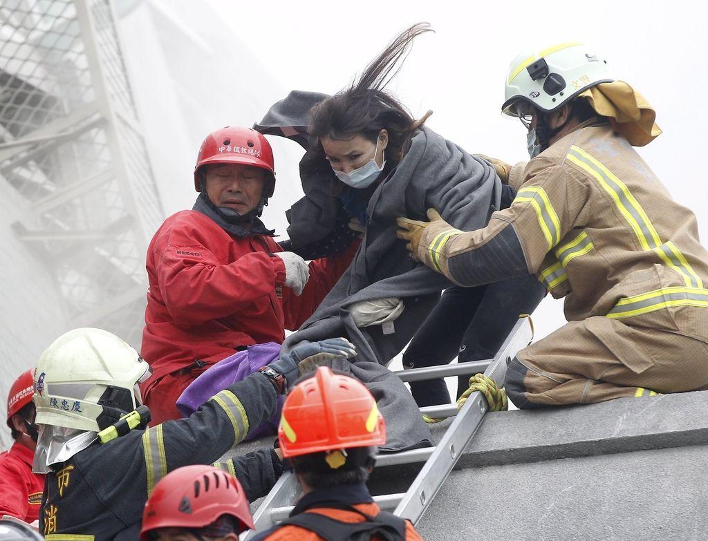 Potres na Tajvanu: ko koza brcne z zadnjimi nogami