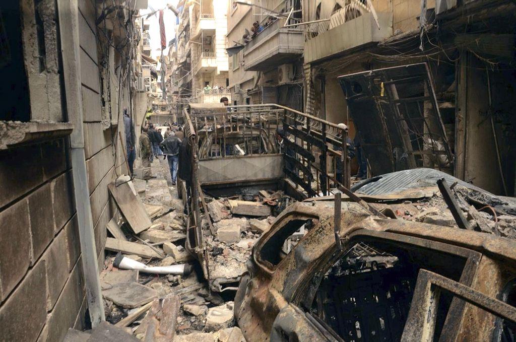 Življenje v Alepu bi lahko postalo neznosno