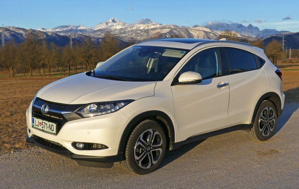Preizkusili smo:        Honda HR-V