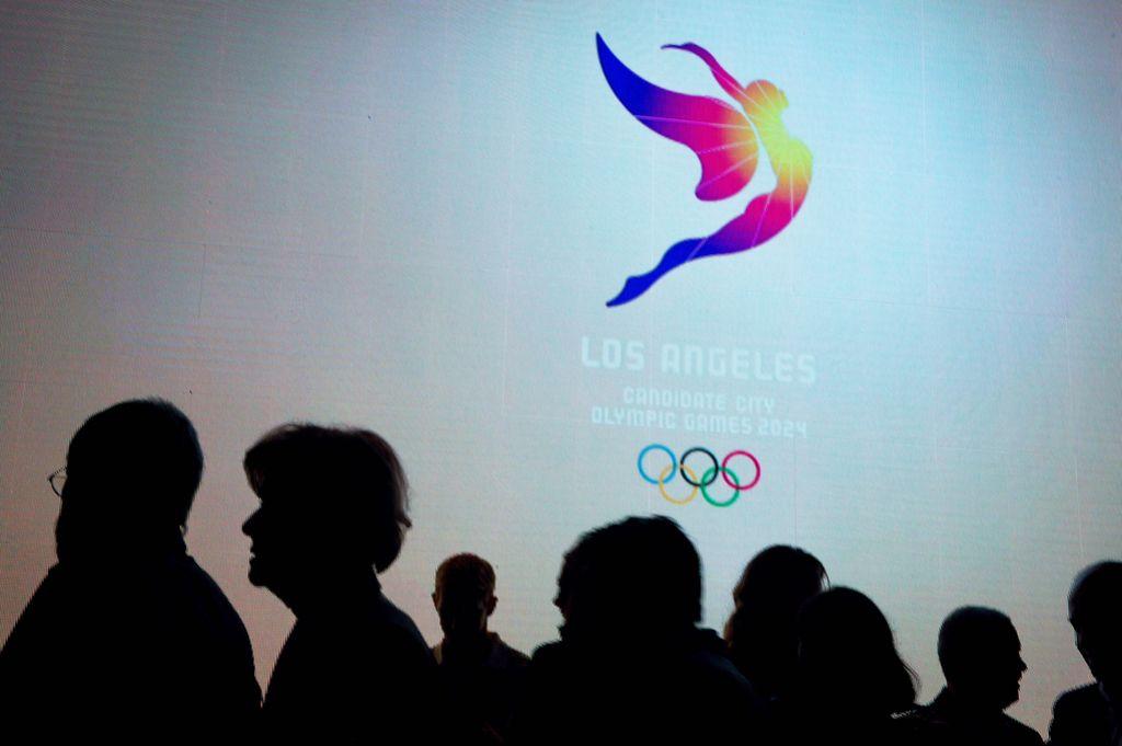 Los Angeles z novim logotipom v boj za OI 2024