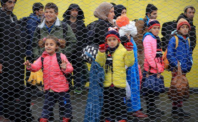 Prihod beguncev na Šentilj 16.februarja 2016 [Šentilj,begunci,migranti,prebežniki,Avstrija]