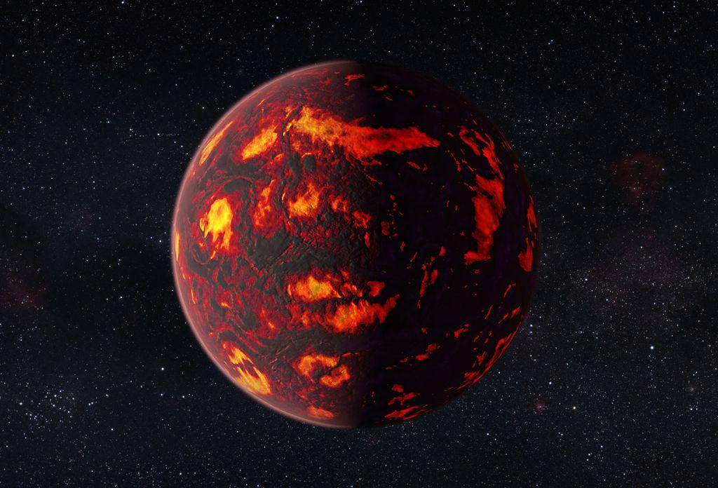 Atmosfera na Zemlji podobnem planetu