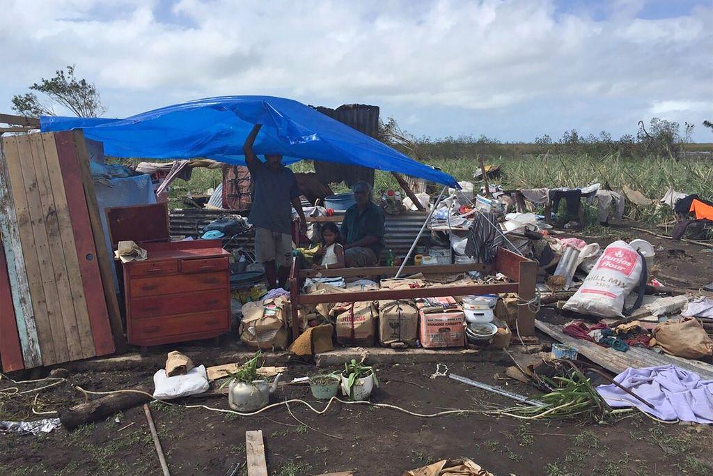 Ciklon Winston na Fidžiju za seboj pustil številne žrtve in opustošenje