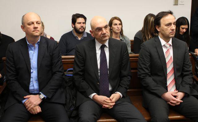 Draško Veselinovič, Miran Višič in Matej Narat Ljubljana 25.2.2016 [sodišče]