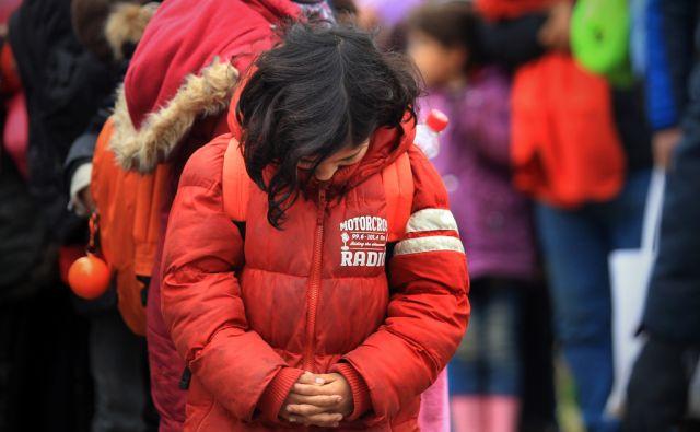 Prihod beguncev na Šentilj 16.februarja 2016 [begunci,migranti,prebežniki,Šentilj,Slovenija]