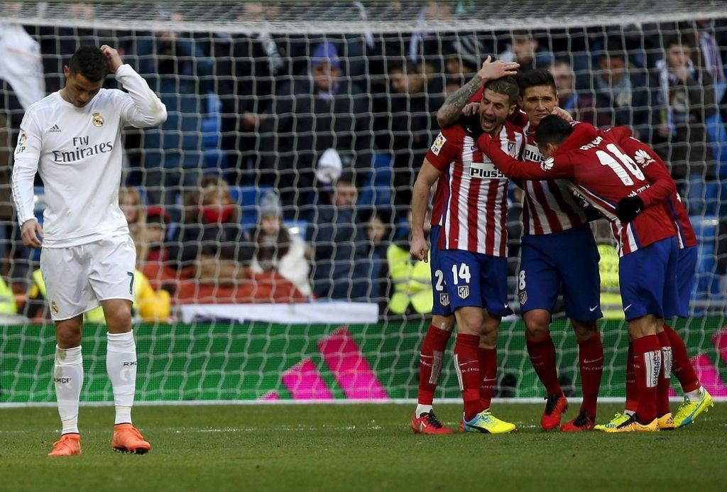 Atletico dobil madridski derbi z Realom, Oblak nepremagan