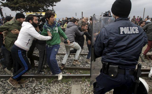 EUROPE-MIGRANTS/GREECE-MACEDONIA