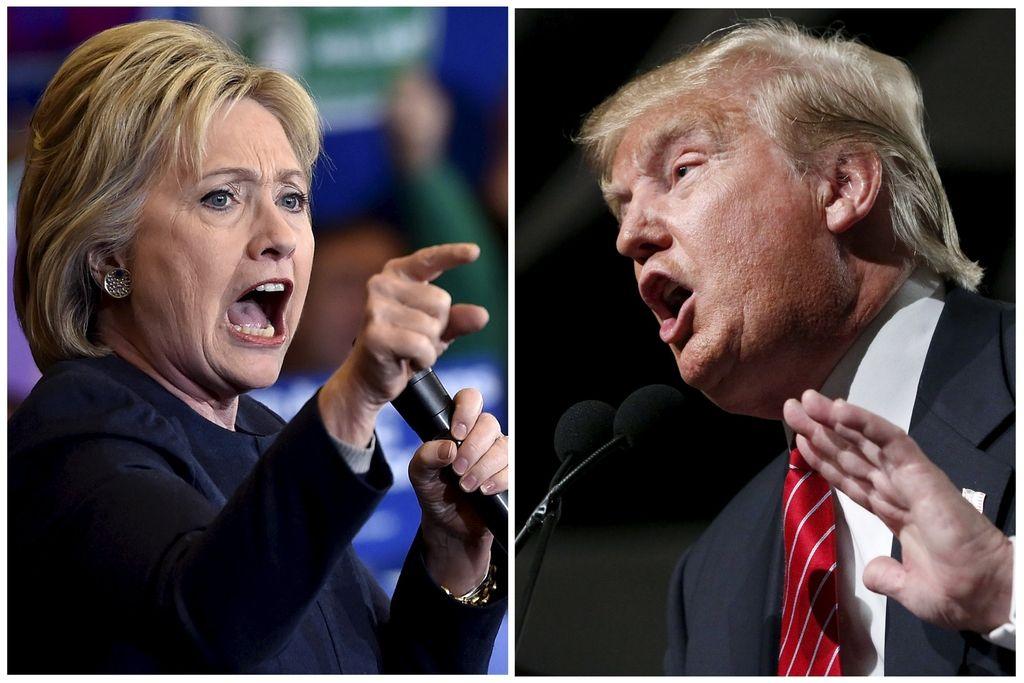 Supertorek za Trumpa in Clintonovo