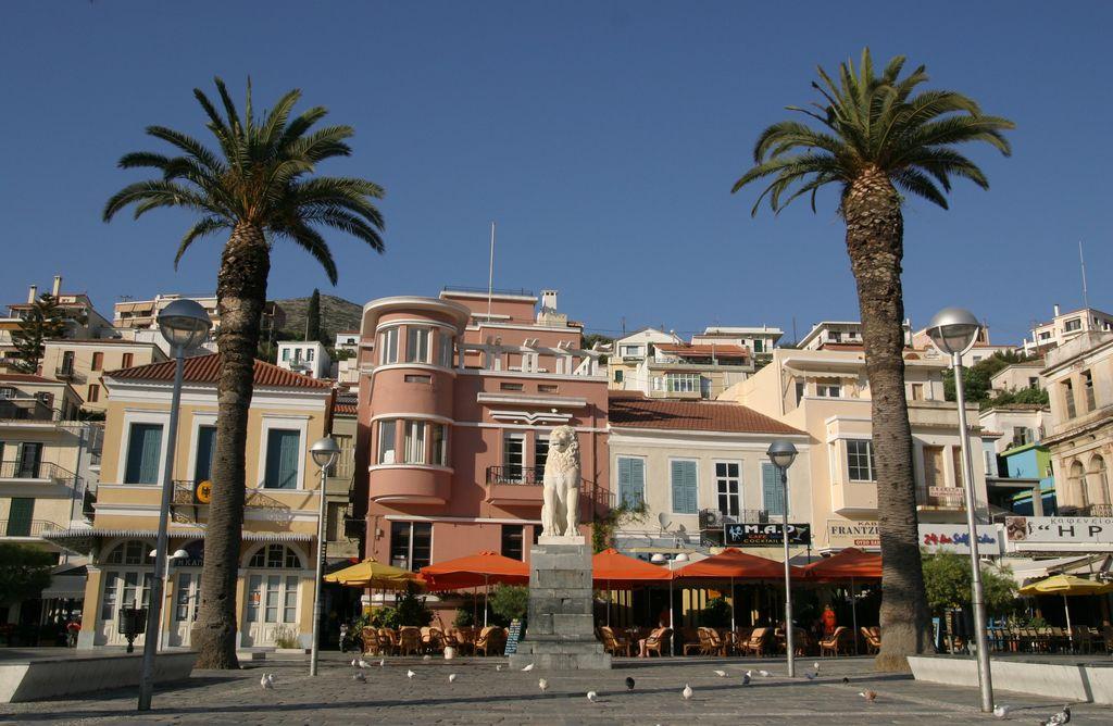 Samos: Pitagora in kultura na kvadrat