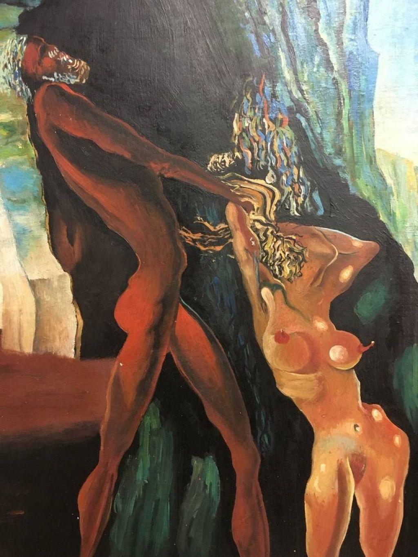 Zarubljeni Dalí hitro umaknjen z dražbe