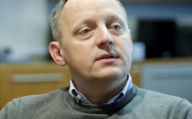 Vodja mestnega oddelka za gospodarske dejavnosti in promet pri MOL. Ljubljana, 1. marec, 2016.[David Polutnik,portreti,MOL,oddelki za gospodarske dejavnosti in promet,gospodarstvo,infrastruktura]