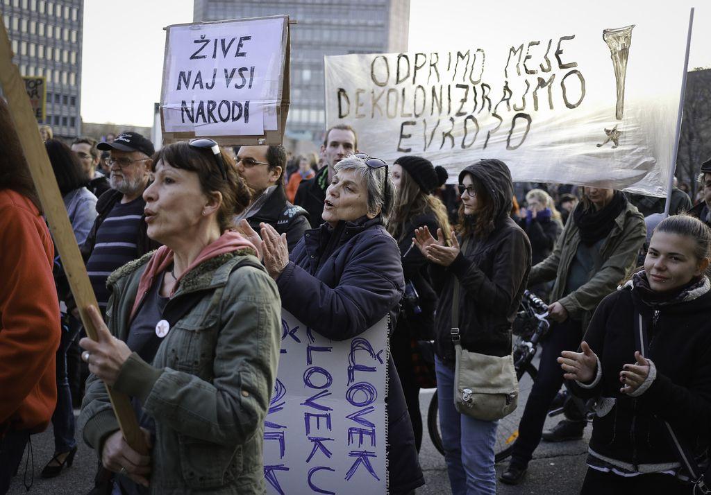 V Ljubljani shod proti rasizmu in fašizmu