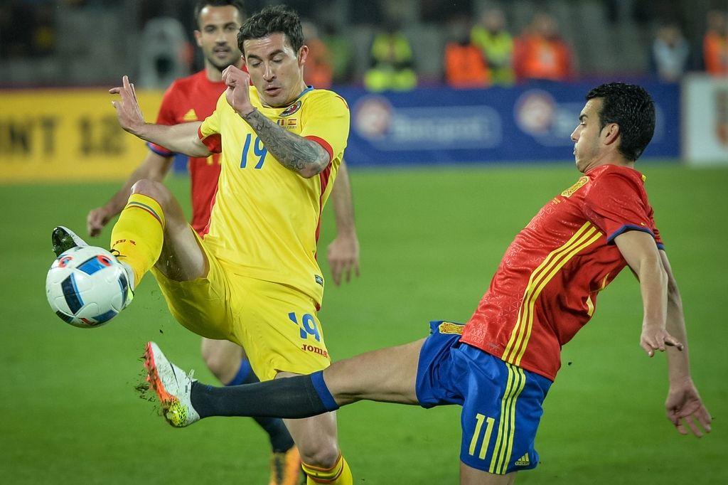 Evropski prvaki Španci niso znali odkleniti romunske mreže (VIDEO)