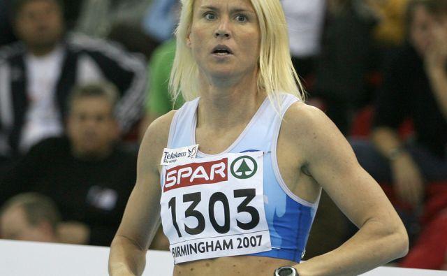 Velika Britanija,Birmingham,04.03.2007,Jolanda Ceplak na evropskem prvenstvu.Foto:Matej Druznik/DELO