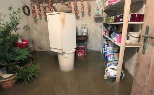 Poplave v Mateni pri Igu, 7. Novembra 2014
