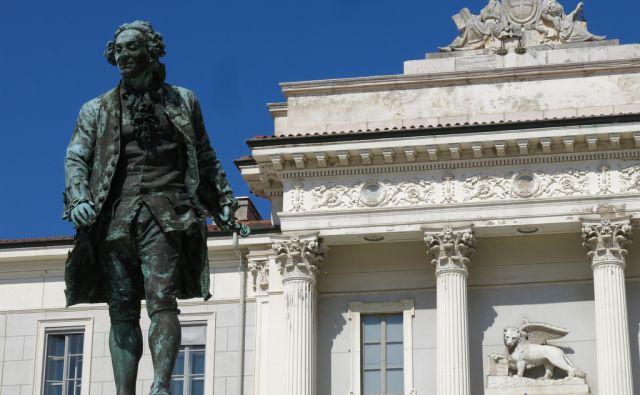 Tartinijev kip v Piranu