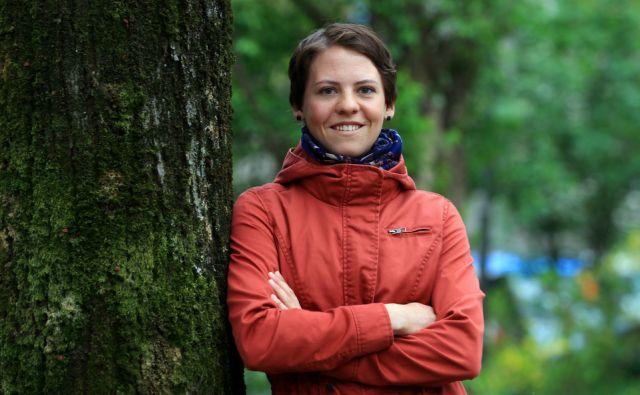 Barbara Bajcer - gorska vodnica 08.aprila 2016 [Barbara Bajcer,gore,vodniki,Planinska zveza Slovenije,načelniki]