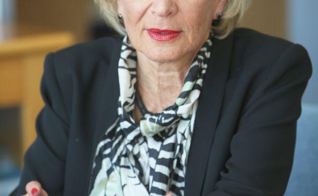 Tamara Lah Turnšek direktorica Nacionalnega inštituta za biologijo v Ljubljani 19.avgusta 2014.