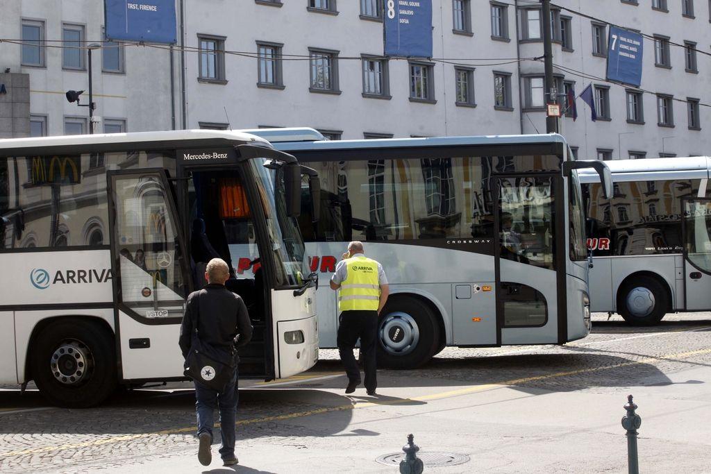 Vodstvo Arrive in vozniki še vedno brez dogovora