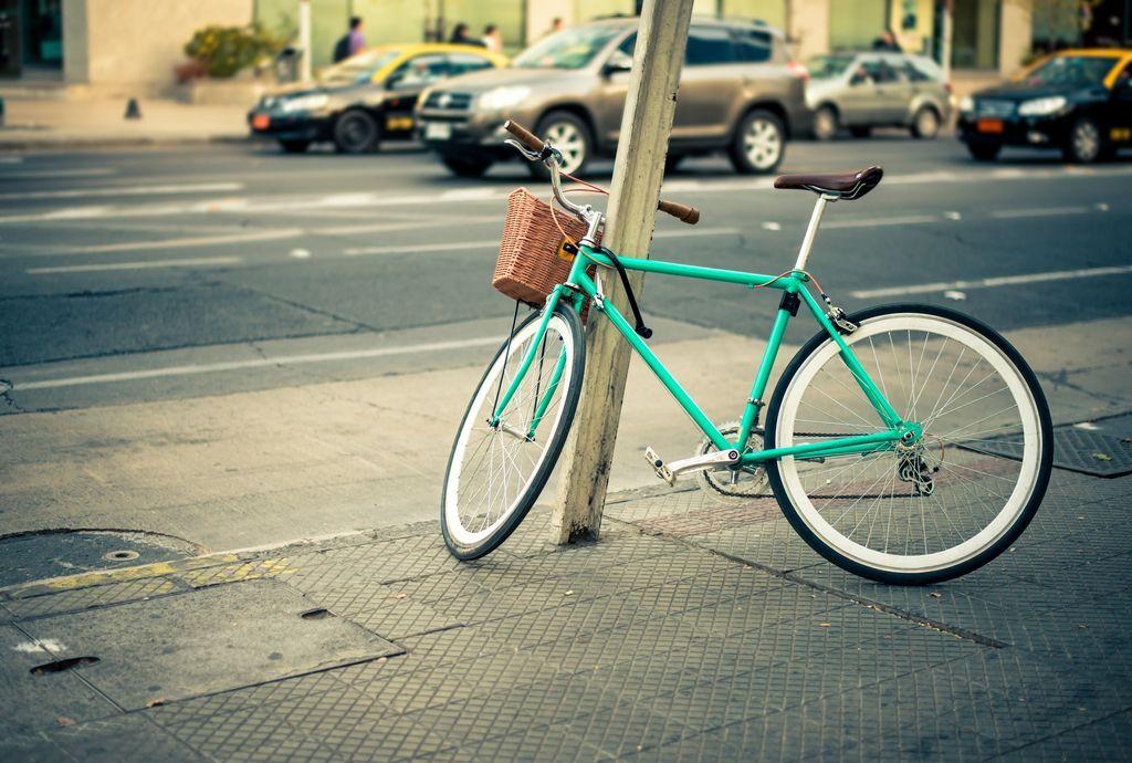 Polet O2: Preprečite krajo vašega kolesa!