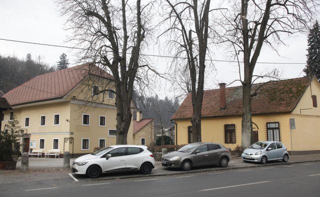 Vodnikova rojstna hiša. V Ljubljani 28.1.2016[vodnik,domaćija]