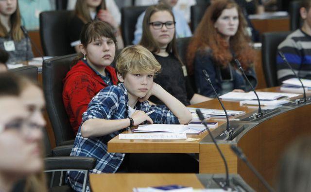 Otroški parlament v Ljubljani, 11. aprila 2016 [Otroški parlament,Ljubljana,parlament]