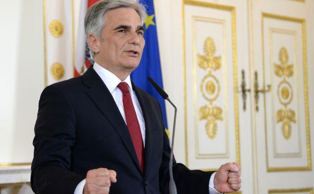 AUSTRIA-POLITICS-RESIGN-FAYMANN