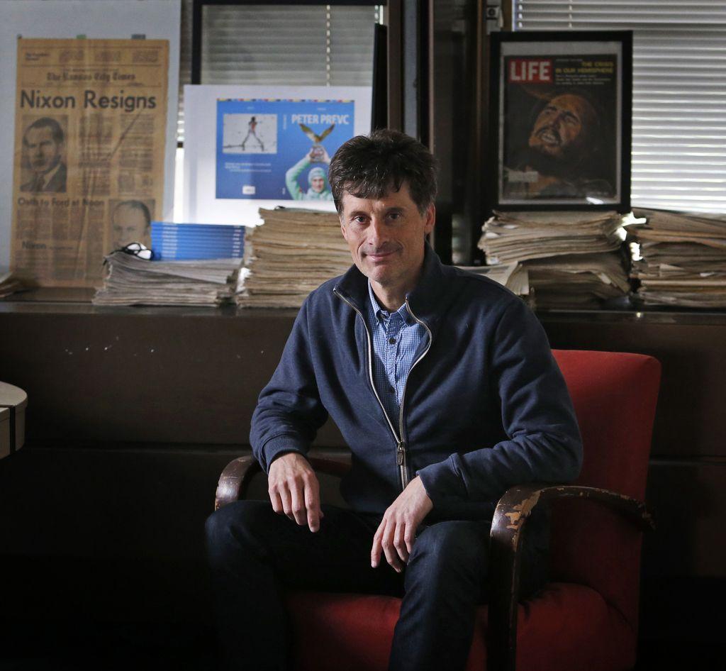 Osebno s Petrom Slatnarjem: Leteči inovator,  ki pušča sled