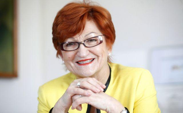 Dr. Danica Purg direktorica Poslovne šole. Na Bledu 12.2.2015
