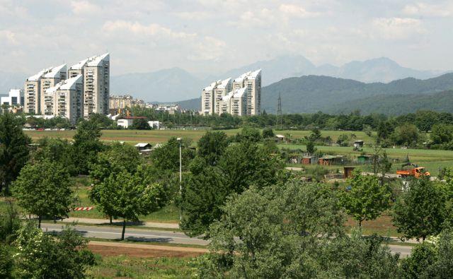 Slovenija, Ljubljana, 07.Maj2007, Travnik po katerem naj bi tekla nova Štajerska vpadnica. Foto: Igor Zaplatil