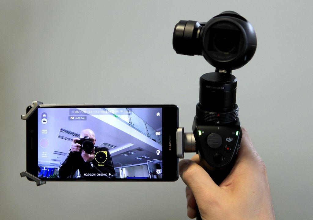 DJI osmo: Motorizirana kamera za nestresene posnetke