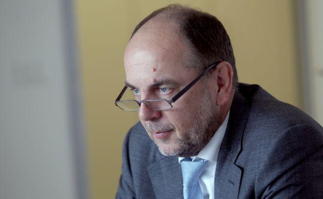 Gabrijel Škof,predsednik uprave zavarovalnice Adriatic Slovenica,Ljubljana Slovenija 25.05.2016 [Portret]