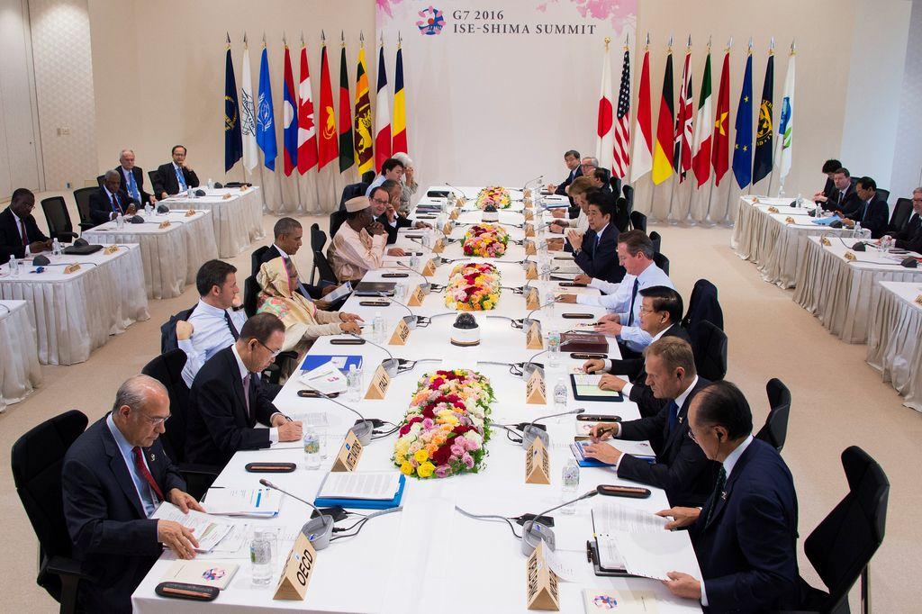 Voditelji G7 kot prioriteto izpostavili gospodarsko rast
