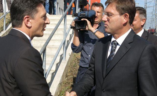 Premier Miro Cerar prvič v Luki Koper