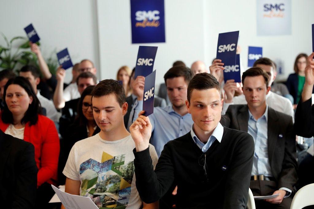 Mladi člani SMC ustanovili podmladek SMC