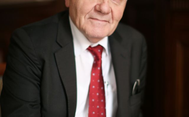 Profesor Jean Pierre Bourguignon predsednik Evropsega raziskovalnega sveta. Ljubljana, Slovenija 6.junija 2016. [Bourguignon Jean Pierre,Evropski raziskovalni svet,profesorji,portreti]