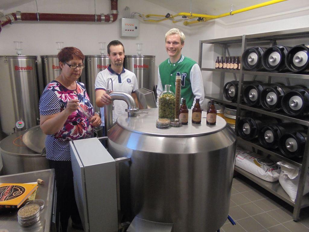 Dijaki in študenti bodo še pivovarji