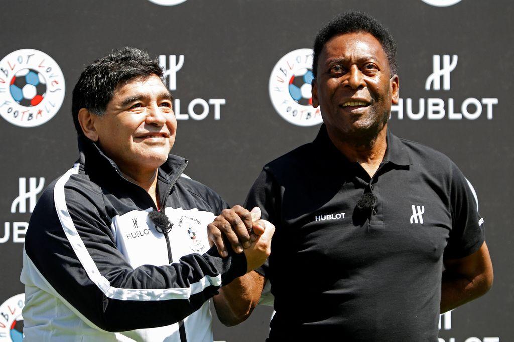 Pele in Maradona sklenila premirje